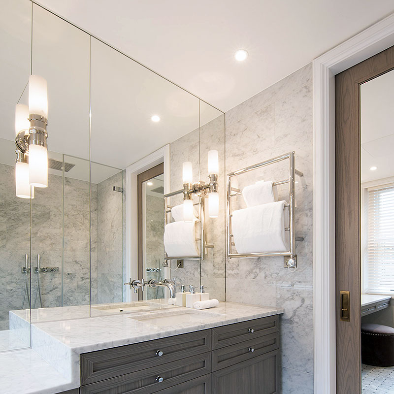 Bespoke bathroom mirrors