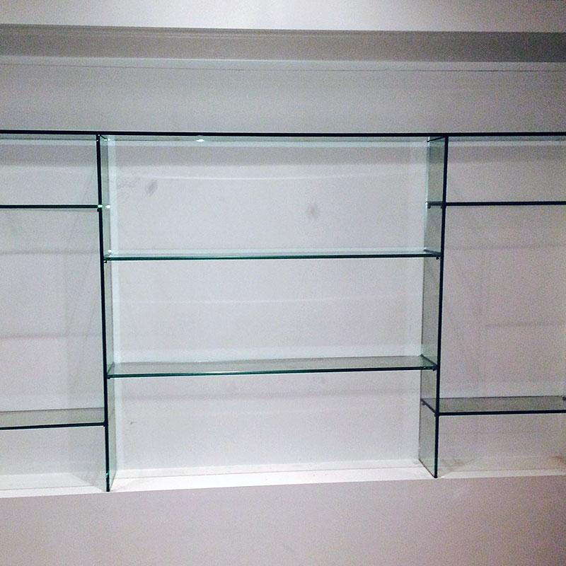 Made to measure glass shelves