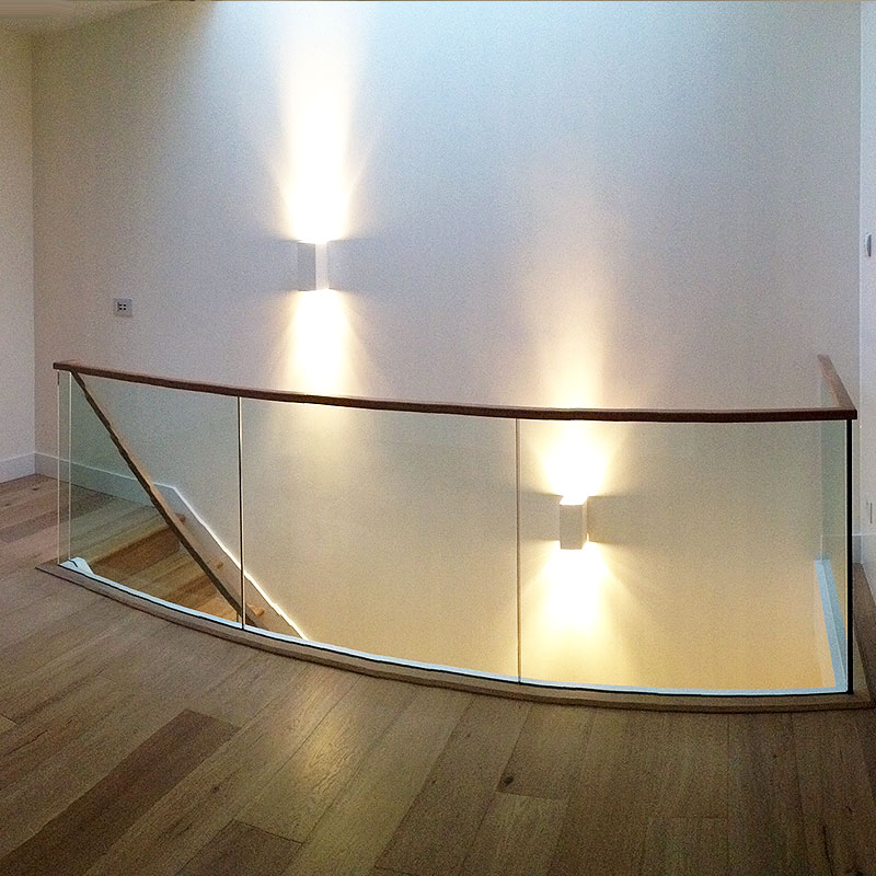 Glass balustrade in Chiswick