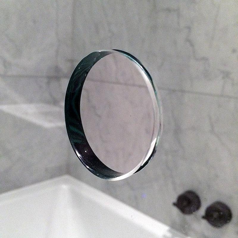 Perfect circle cut ready for handles