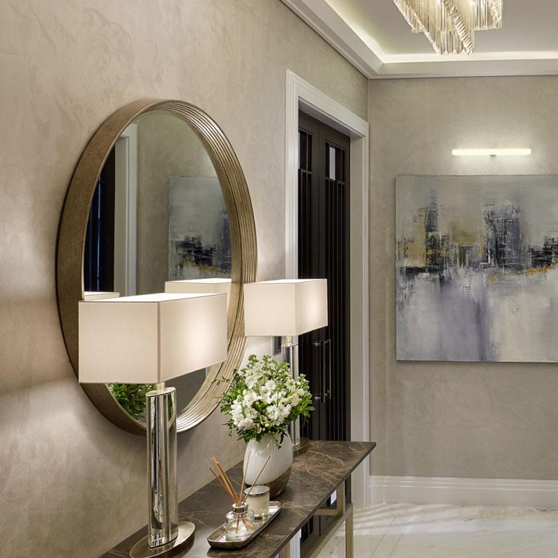 Bespoke hallway mirror