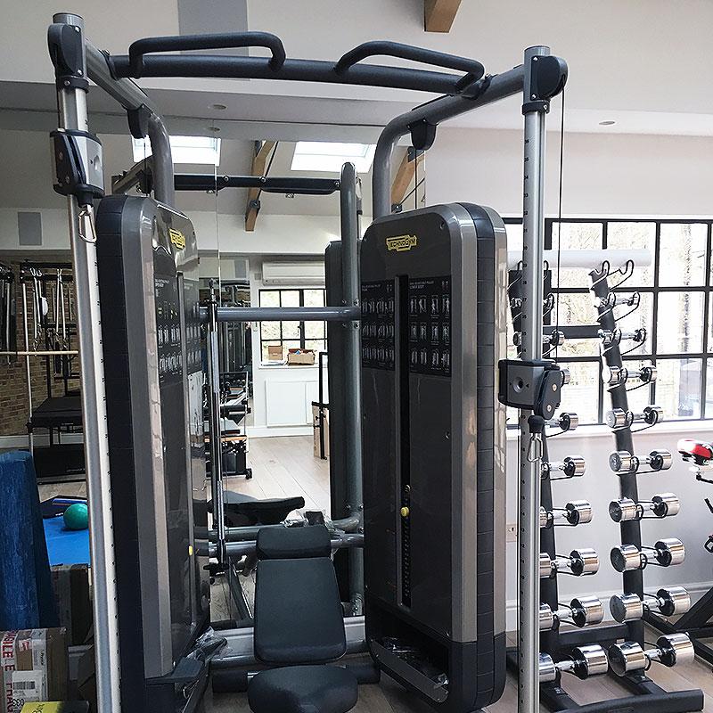 Workout gym mirrors