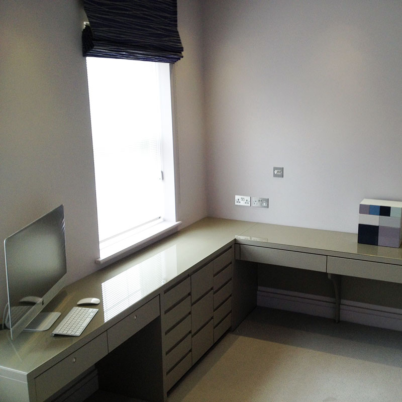 Bespoke office furniture glass