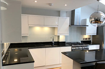 kitchen splashbacks in London