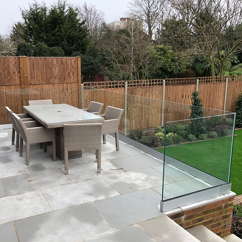 Bespoke balustrades in Kensington