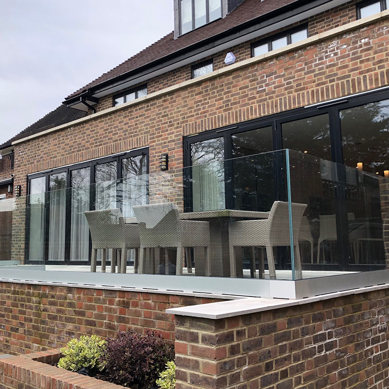 Bespoke balustrades in the West End