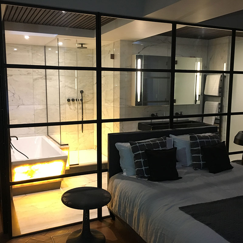 Bespoke glass products in Hampstead