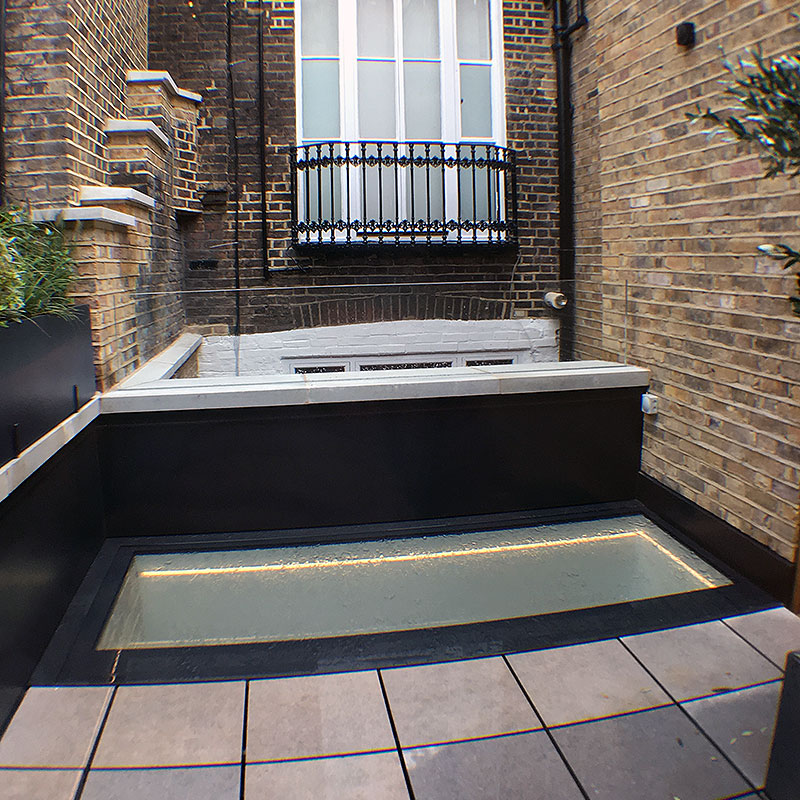 Bespoke glass products in Notting Hill